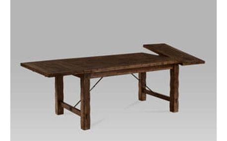 Jídelní stůl rozkládací 160+45+45x95, ořech