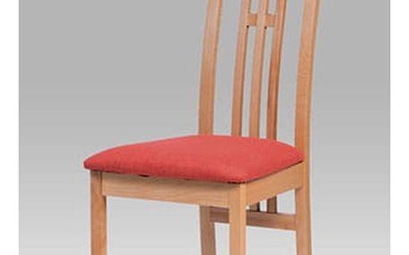 Jídelní židle BC-12481 BUK3 - buk/bez sedáku