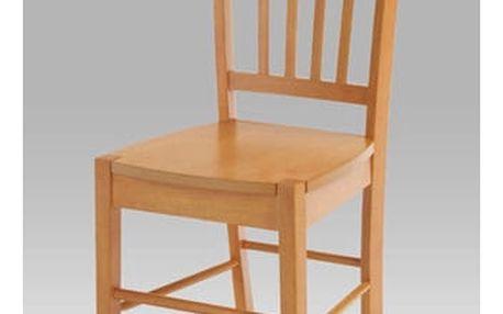 Jídelní židle celodřevěná AUC-005 OL - olše