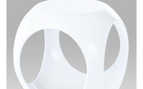 Taburet HF-710 WT - plast bílý