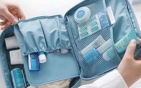 Cestovní organizér na kosmetiku a hygienické pomůcky