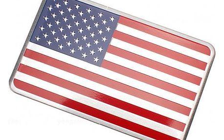 3D samolepka - USA