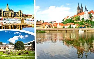 Zájezd do Německa pro 1 osobu. Romantický výlet s nádechem historie a zábavy. Navštívíte města Míšeň - Drážďany a užijete si plavbu lodí s občerstvením ke krásnému zámku Pillnitz, kde si prohlédneme královský park.