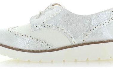 Bílé polobotky Zamiria