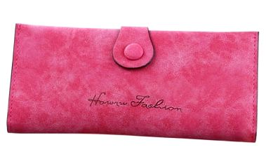 Dámská dlouhá peněženka v pastelových barvách