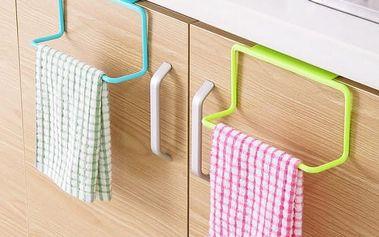 Kuchyňský věšák na utěrky - různé barvy