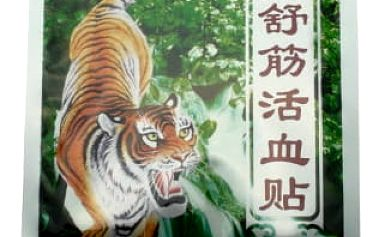 Náplasti s tygří mastí - 16 ks