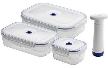 Boxy na potraviny Compactor Food Saver, 4 ks