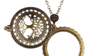 Kouzelný náhrdelník se zvětšovacím sklíčkem