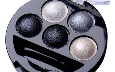 Paletka třpytivých očních stínů