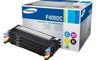 Toner Samsung CLT-P4092C, 1K stran - originální (CLT-P4092C/ELS) černý/červený/modrý/žlutý + Doprava zdarma