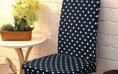 Elastický potah na jídelní židli - 12 variant