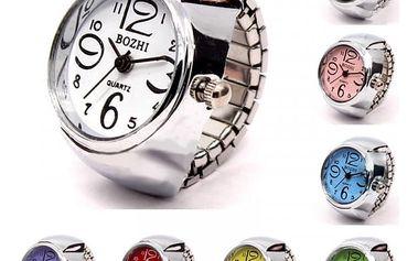 Náramkové hodinky s mohutným ciferníkem