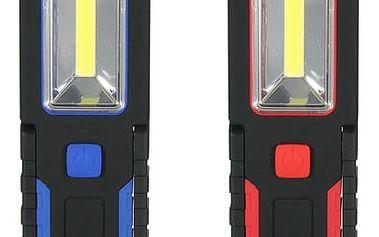 LED lucerna s magnetem - 2 barvy
