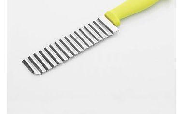 Vroubkovaný nůž na bramborové lupínky