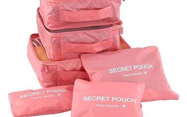 Ochranné obaly na oblečení do kufru - 8 barev