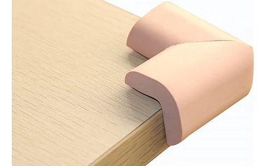 4 krytky na zabezpečení rohů nábytku - 9 barev