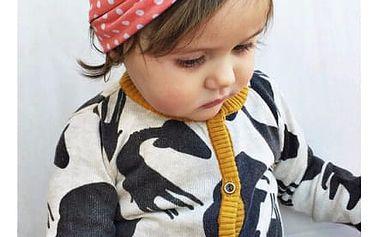 Elastická čelenka s uzlíkem pro děti