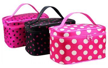 Dámská kosmetická taška s roztomilým motivem