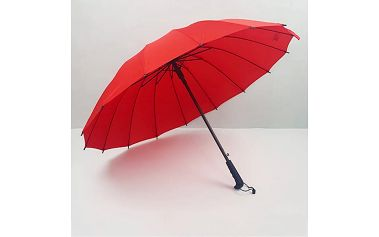 Deštník v decentním provedení – různé barvy