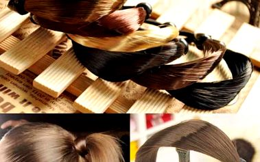 Gumička ve vlasovém provedení - 6 barev