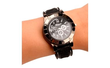 Pánské hodinky se zapalovačem - černá - dodání do 2 dnů