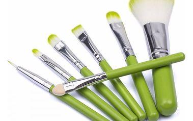 Kosmetické štětce v elegantním designu - 7 ks