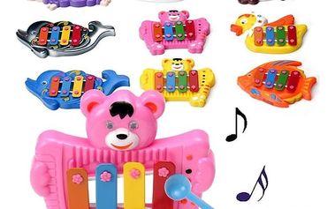 Hudební vzdělávací hračka ve tvaru zvířátka
