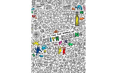 Obří omalovánka Keith Haring OMY