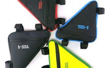 Taška na rám kola ve tvaru trojúhelníku - 4 barvy