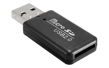Přenosná čtečka karet USB 2.0