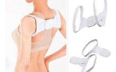 Podpora zad pro lepší držení těla - bílá - dodání do 2 dnů
