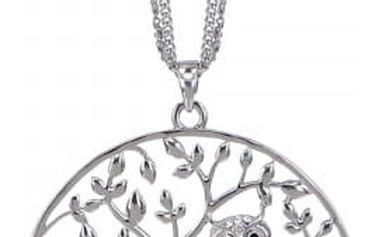Náhrdelník - sova se stromem