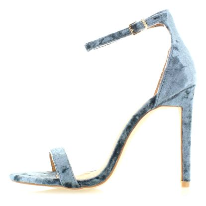 Šedé sandály Lupie