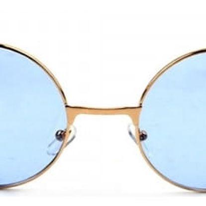Stylové retro brýle s kulatými obroučky