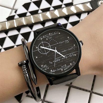 Náramkové hodinky pro ženy i muže se vzorečky a funkcemi - 5 variant