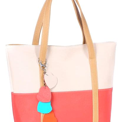 Prostorná kabelka ve veselých barvách