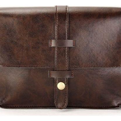 Dámská vintage kabelka z PU kůže - dvě barevné varianty