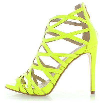Žluté sandály Evelyn