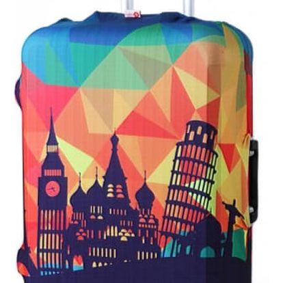 Obal na kufr s nápaditým motivem - 28 variant