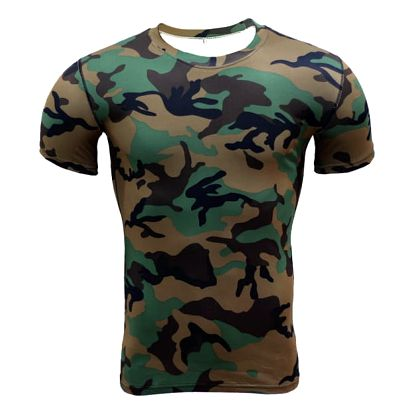 Pánské kompresní tričko krátký nebo dlouhý rukáv - více vzorů