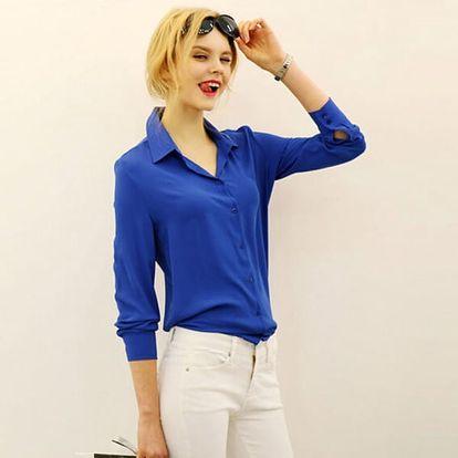 Dámská košile prodyšná v elegantním stylu - 3 barvy