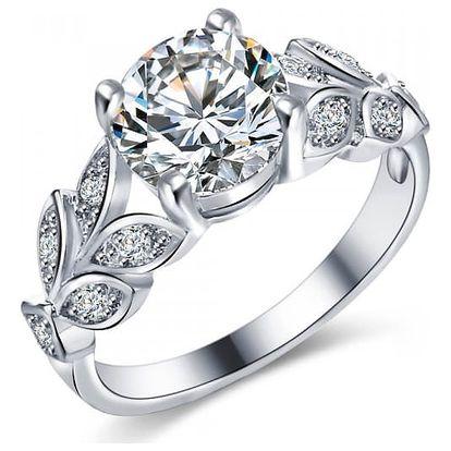 Dámský prsten s drobnými kamínky
