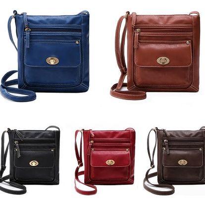 Ležérní dámská taška přes rameno - různé barvy