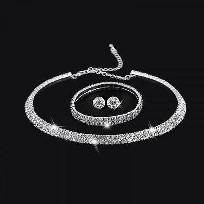 Luxusní sada šperků s kamínky
