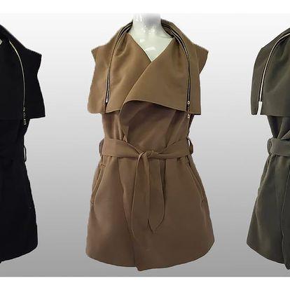 Designové dámské vesty