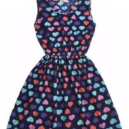 Letní šaty s barevným vzorem - 21 variant