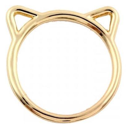 Dámský prstýnek s kočičími oušky - 3 barvy