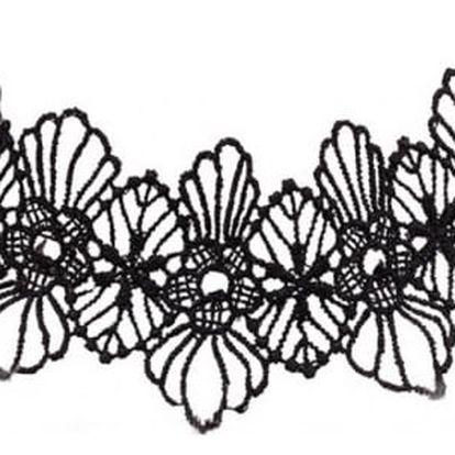 Krajkový náhrdelník gotický nebo romantický