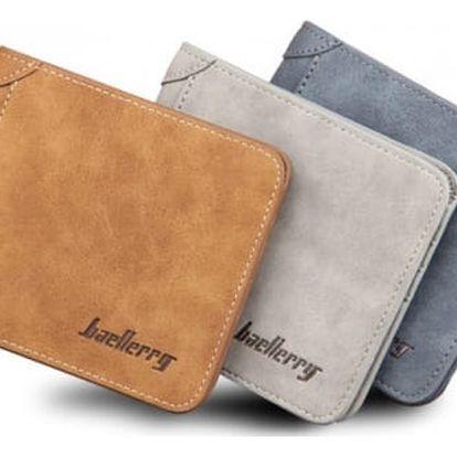 Ležérní pánská peněženka v různých barvách